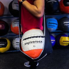 medicine ball carrier