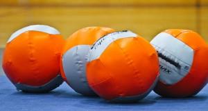 Orange dynamax balls