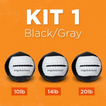 Kit 1 in Black & Gray