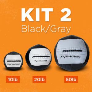 Kit 2 in Black & Gray