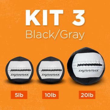 Kit 3 in Black & Gray
