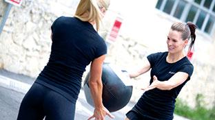 medicine ball training